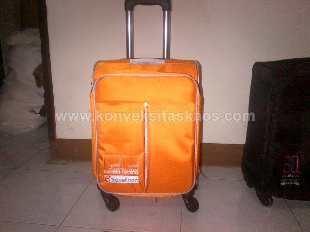 Koper TD e-travelindo finance 2015 Orange 18 inch